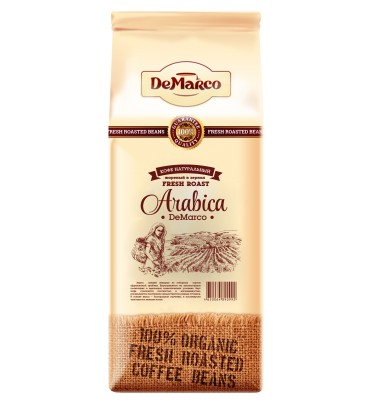 "Кофе в зернах Fresh Roast ""ARABICA"" DeMarco"