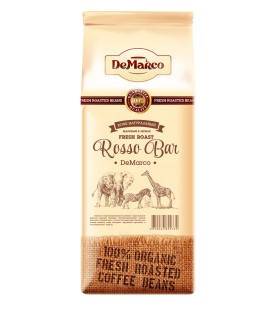 "Кофе зерновой Fresh Roast ""ROSSO BAR"" DeMarco"